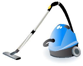 フロア掃除